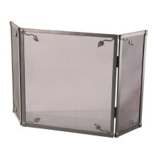 Iron Fire screen - Leaf Collection - Triple Panel