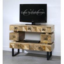 Coast to Coast 7 Drawer TV Stand