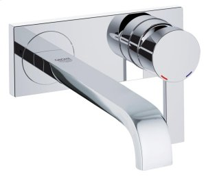 Allure Two-Hole Wall Mount Bathroom Faucet M-Size Product Image