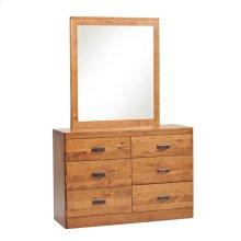 Crossan Dresser- 1in bevel mirror