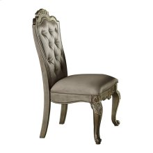 Side Chair, Faux Silk