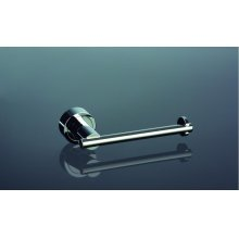 "Anello Toilet paper holder W 6 1/2"" x H 2"" Chrome"