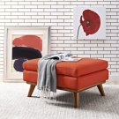 Engage Upholstered Fabric Ottoman in Atomic Red Product Image