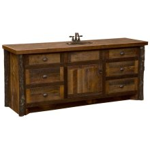 Vanity Base - 42-inch - Sink Left