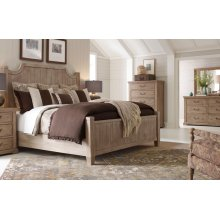 Monteverdi by Rachael Ray Complete Queen Low Post Bed