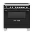 """Induction Range, 36"""", 5 Zones with SmartZone, Self-cleaning Product Image"""