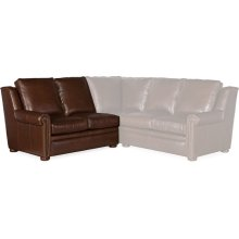 Bradington Young Reece LAF Stationary Loveseat 8-Way Tie 202-57