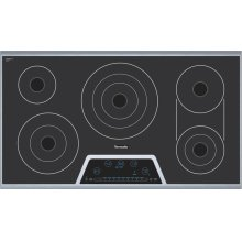 "36"" Masterpiece Deluxe Electric Cooktop with Touch Control and Bridge Element"