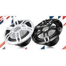 """10"""" Marine Component Subwoofer with 900 Watts Max and Sports Grille Design"""