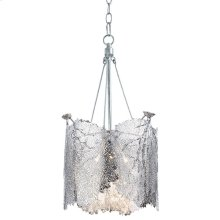 Large Sea Fan Chandelier (nickel)
