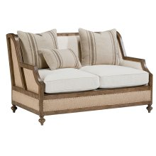 Ivory Foundation Loveseat