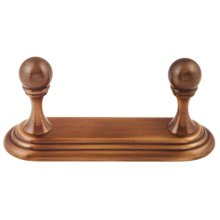 Embassy Double Robe Hook A9086 - Antique English