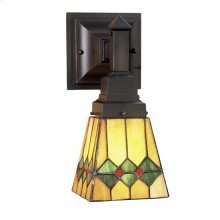 """5""""W Martini Mission Wall Sconce"""