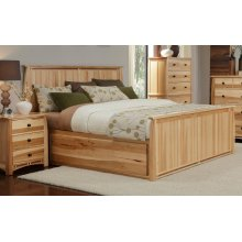 King Storage Bed