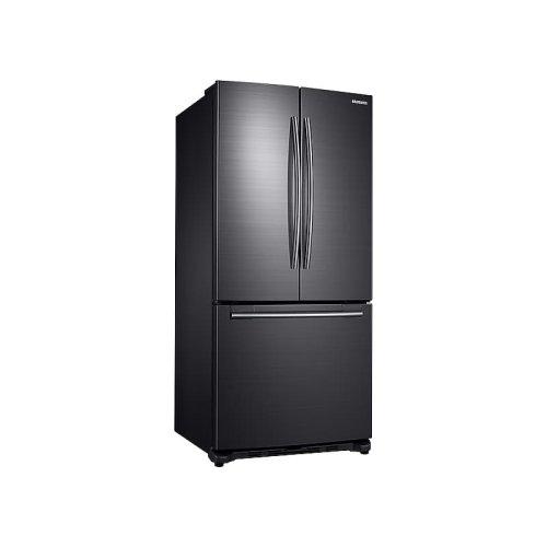 20 cu. ft. French Door Refrigerator in Black Stainless Steel
