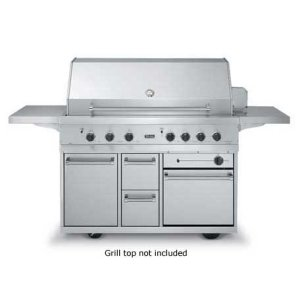 """Outdoor Range Grill Cart - BQCO (53"""" wide grill cart with oven (Natural Gas))"""