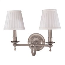 Wall Sconce - SATIN NICKEL