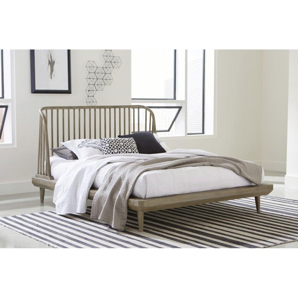 Spindle Full Platform Bed