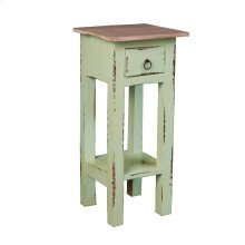 CC-TAB1792TLD-BHLW  Cottage Side Table  Bahama/Limewash