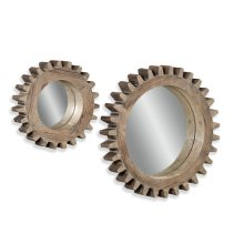 Sprockets Wall Mirror Set/2