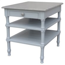 Island Lamp Table - Grey/rw