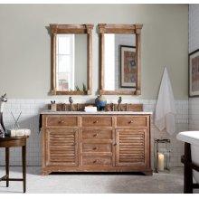 """Savannah 60"""" Double Bathroom Vanity"""