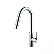 K1 Monoblock lavatory/bar/prep sink faucet - Polished Chrome