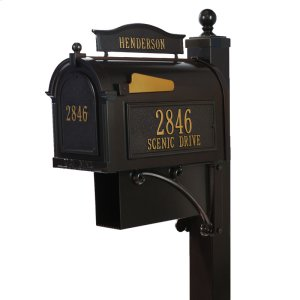 Ultimate Mailbox Package - Bronze Product Image