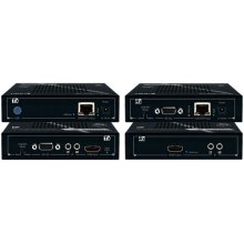 HDBT via Single CAT6/STP (TX/RX) Extenders with EDID Control, RS-232, IR, support up to 250 ft. on 1080p/60