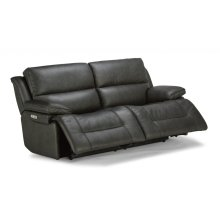 Apollo Leather Power Reclining Sofa with Power Headrests