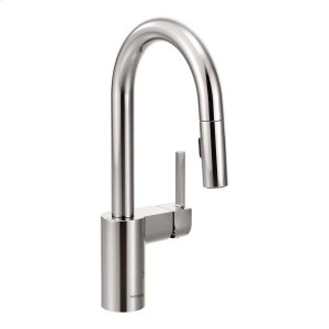 Align chrome one-handle pulldown bar faucet Product Image
