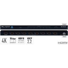 1x8 4K/18G HDMI Distribution Amplifier, HDR10, HDCP2.2