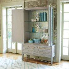 Collectors Cabinet Top-Grey-New Puck Light