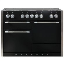 AGA Mercury 48 Induction Matte Black with Chrome trim