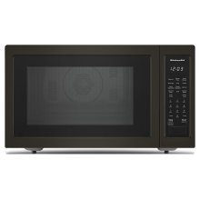 """21 3/4"""" Countertop Convection Microwave Oven with PrintShield™ Finish - 1000 Watt - Black Stainless"""