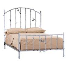 Whisper Creek Queen Iron Bed