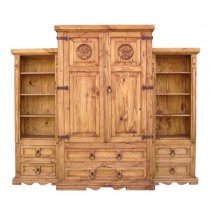 3 Piece Wall Armoire W/ Star W/star