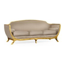 Empire Style Sofa (Gold Leaf/COM)