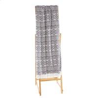 Grey & White Diamond Tribal Throw Product Image