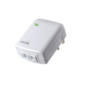 Leviton Decora Smart Plug-In Dimmer (for Works with Ring Alarm Security System) - White Product Image