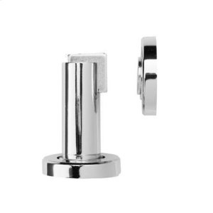 Magnetic door stop 50mm wall/floor mounted, Polished Chrome Product Image