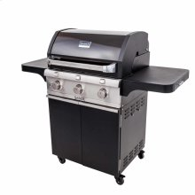 Cast Black 3-Burner Gas Grill