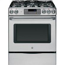 "GE Cafe™ Series 30"" Free-Standing Range with Storage Drawer"