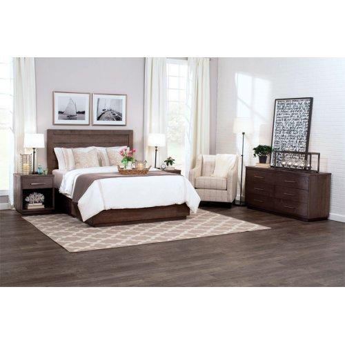 Ironwood Planked Bed, Ironwood Planked Bed, California King