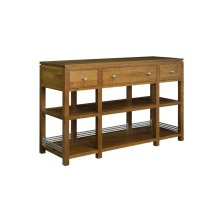 Sunset Hills 3 drawer sofa table