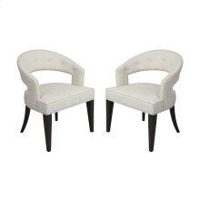 Cavendish Chair - Antique White Linen