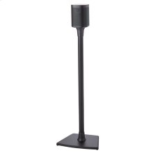Black Wireless Speaker Stands designed for Sonos ONE, Sonos One SL, PLAY:1 and PLAY:3