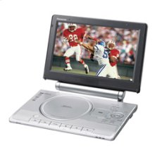 """Portable DVD Player with Adjustable Built-in 11"""" Diagonal Widescreen LCD, Built-in SD Memory Card Slot, and Multi-Format Playback"""