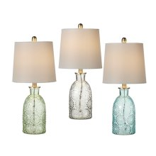 Embossed Dot Accent Lamp. 40W Max. (3 pc. ppk.)