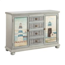 Hatteras 2-door 4-drawer Cabinet